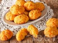 Солени еклери със сирене моцарела